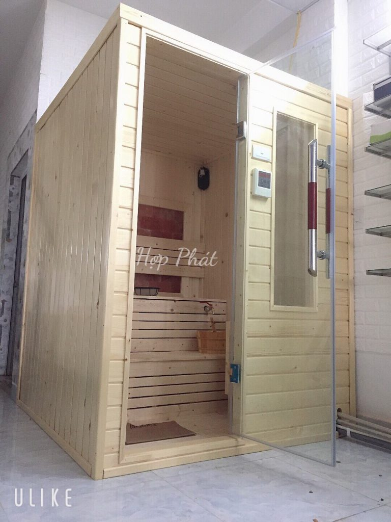 Phòng xông hơi khô vách đá muối cho Spa Mai Anh – Văn Phú