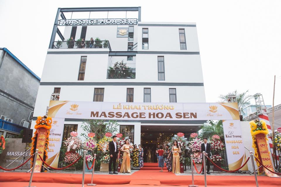 Hệ thống xông hơi – Massage Hoa Sen – Hải Phòng
